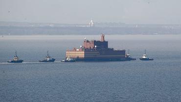 Rosyjski pływający reaktor Akademik Łomonosow