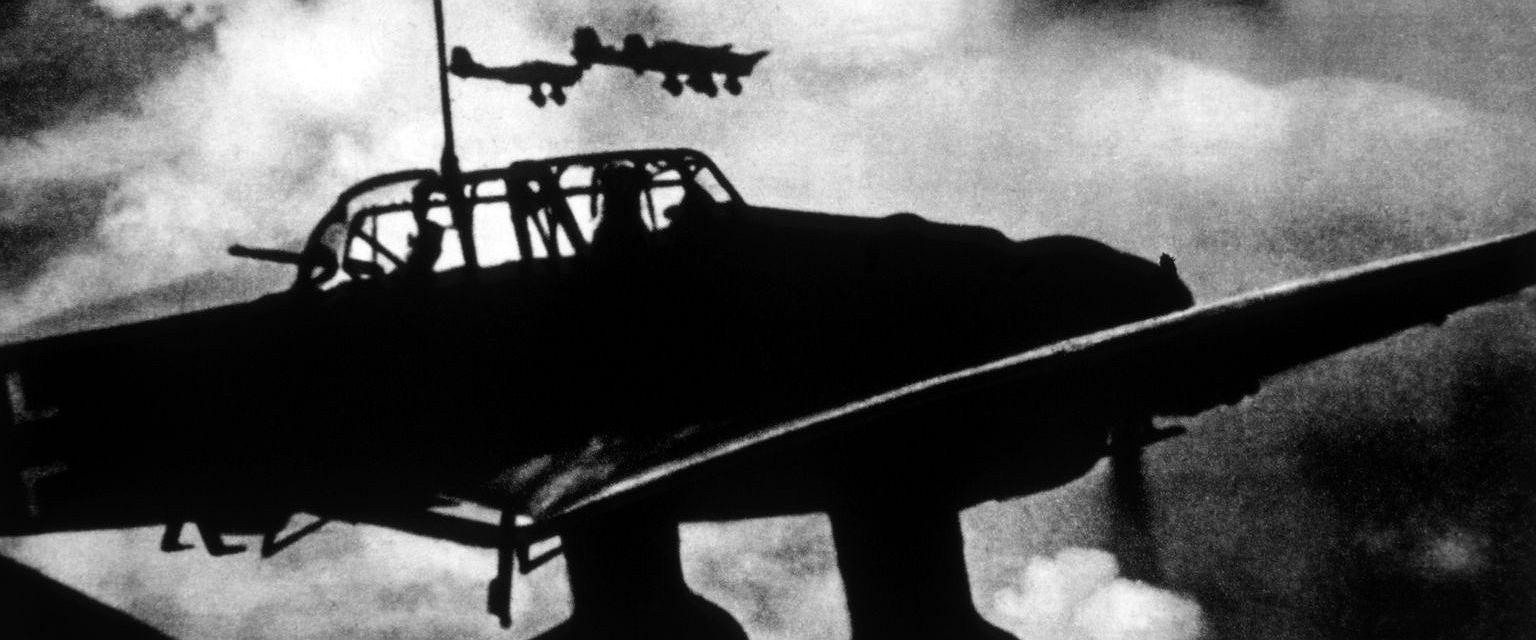 Niemieckie 'Stuki' nad Polską w 1939 roku (fot. Shutterstock)
