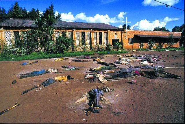 Nie ma w Rwandzie kościoła, w którym by nie mordowano