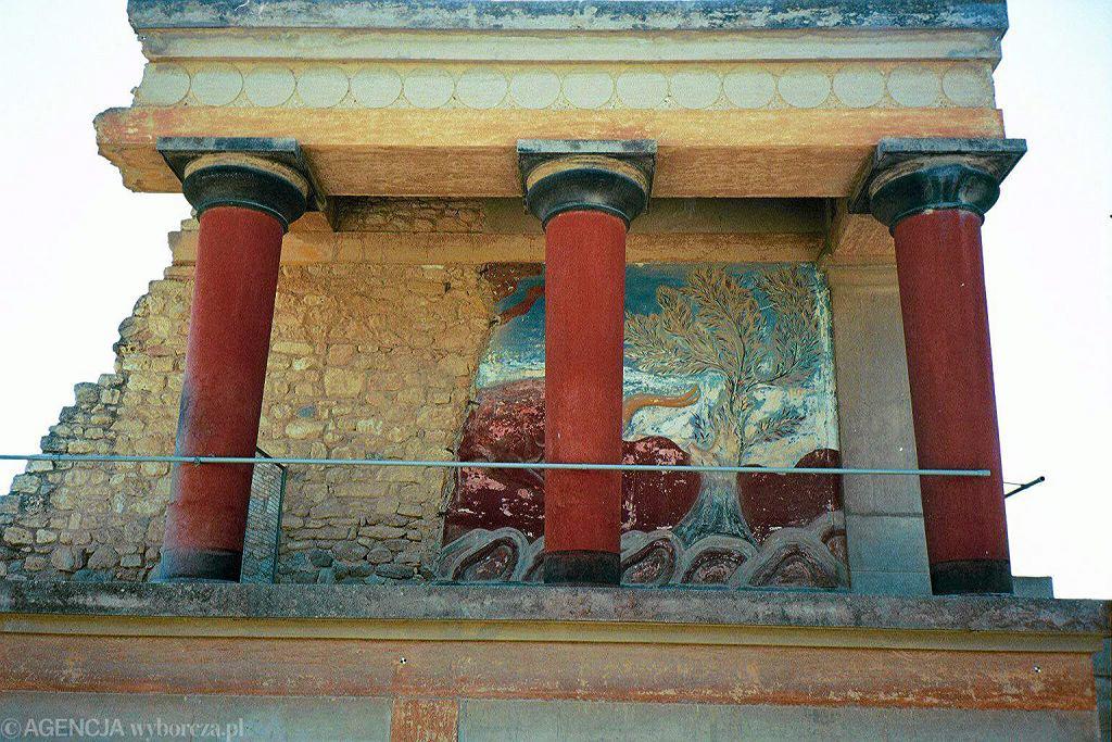 Kreta - ruiny Knossos