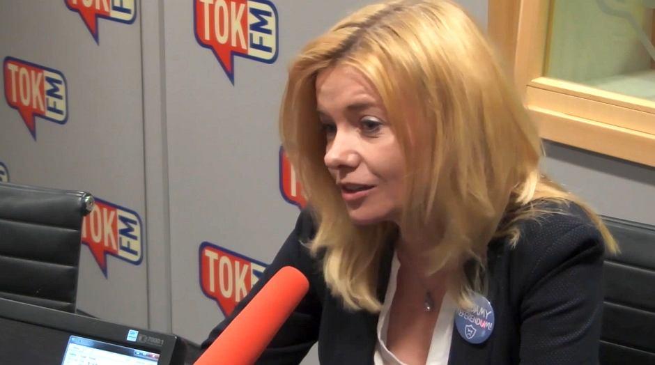 Dorota Łoboda z ruch Rodzice przeciw reformie edukacji