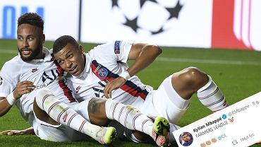 Kylian Mbappe po sukcesie francuskich klubów w Lidze Mistrzów