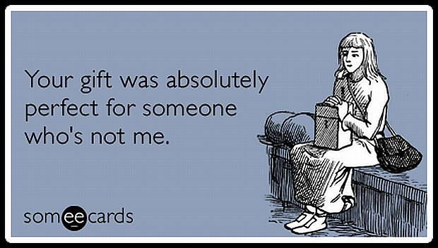 Idealny prezent dla kogoś, kto nie jest mną!