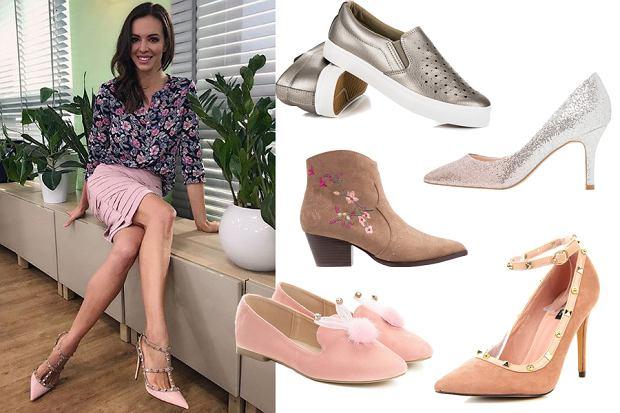 Kolaż, modne buty na wiosnę/Materiały partnera