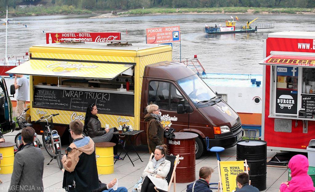 Food Port nad Wisłą w długi weekend ma działać 24 godziny na dobę / FOT. KUBA ATYS