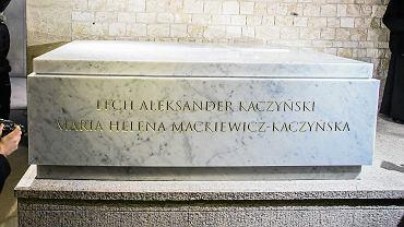 Nowy sarkofag pary prezydenckiej na Wawelu