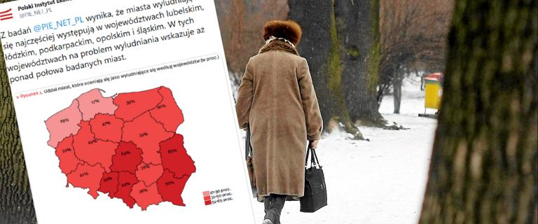 Polskie miasta się wyludniają się. Najbardziej w lubelskim i łódzkim