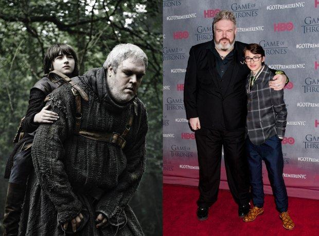 Kristian Nairn i Isaac Hempstead Wright, czyli serialowi Hodor i Bran Stark