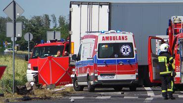 Wypadek w Elzbietowie