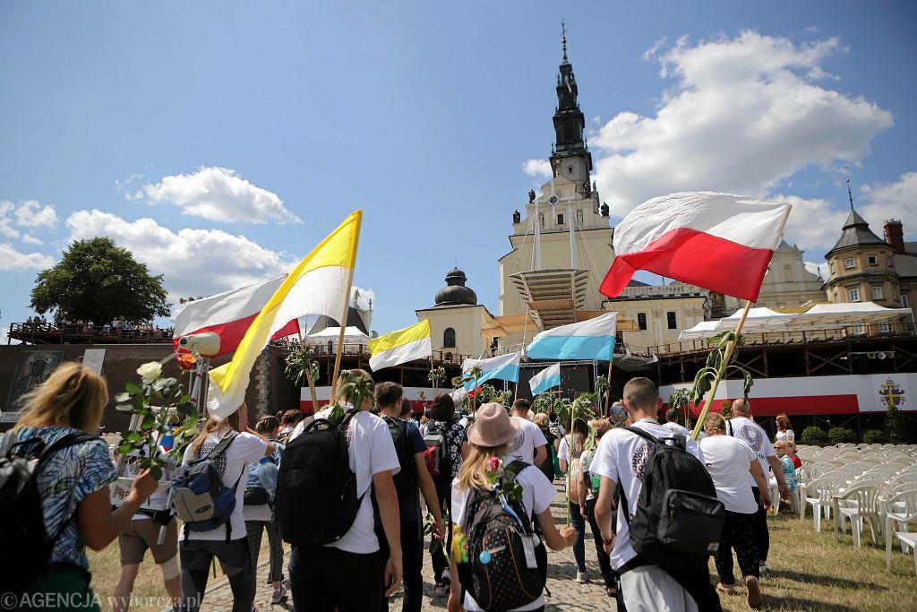 Pielgrzymi w Częstochowie