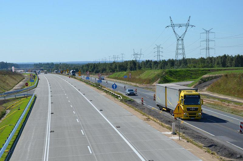 Autostrada A1, Kamieńsk - Radomsko