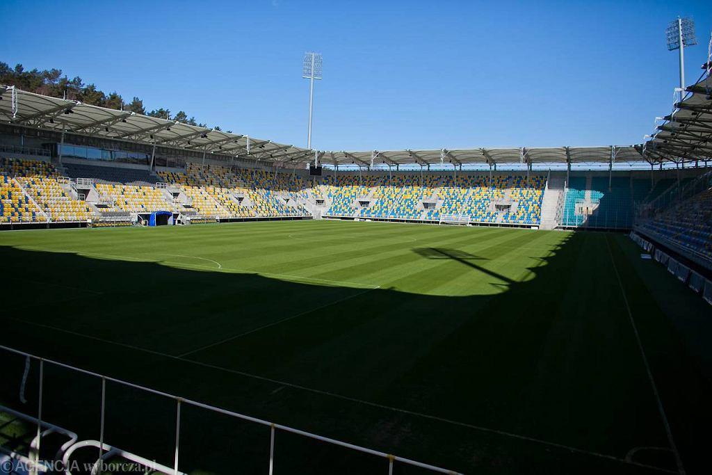 Stadion Miejskito zasługi Miasta Gdynia