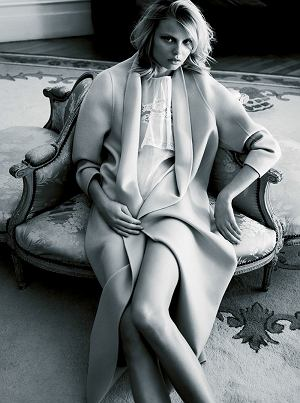 Magdalena Frackowiak Zeit Magazine fot. Horst Diekgerdes