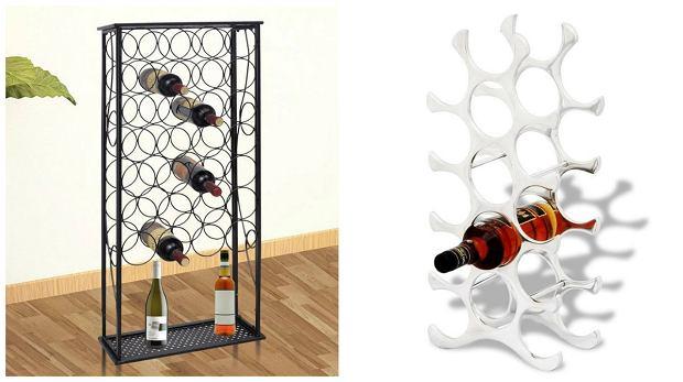 Nowoczesne stojaki na wino [przegląd modeli]