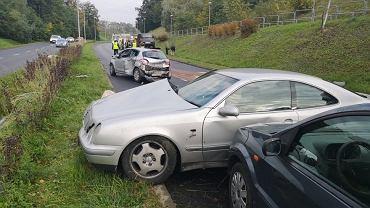 Na ul. Andersa doszło do zderzenia z udziałem 5 samochodów