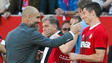 Bayern i Robert Lewandowski świętują czwarte z rzędu mistrzostwo Niemiec