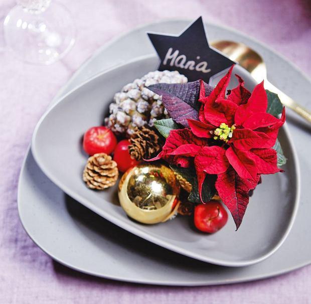 Mini dekoracje na talerzu