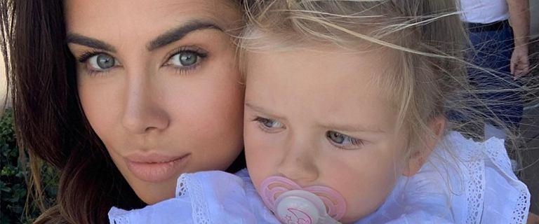 Natalia Siwiec zamieściła zdjęcie córki z plastrem na głowie