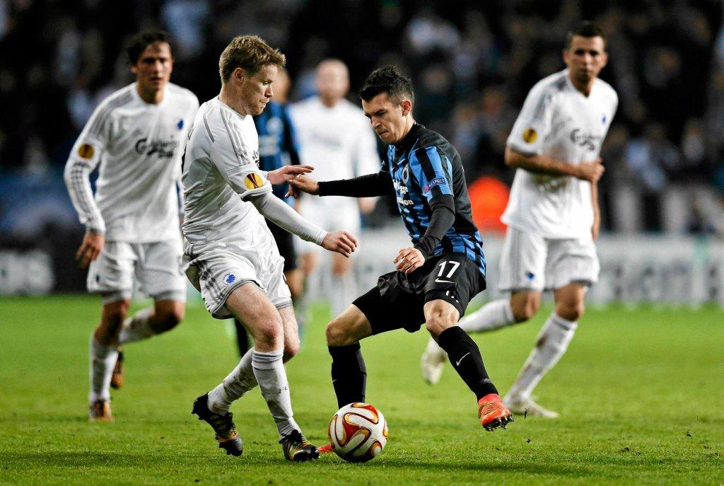 Waldemar Sobota w barwach FC Brugge