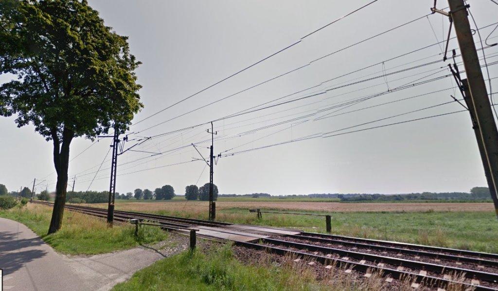 Tory kolejowe w miejscowości Lubajny