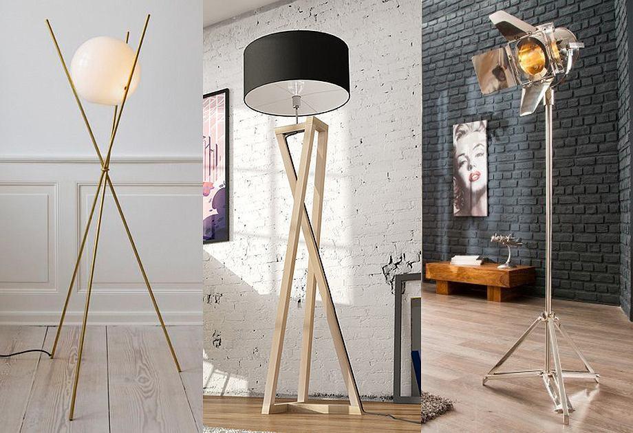 lampy stojące rekjlama