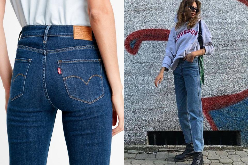 Jeansy Levi's - kultowe modele w świetnej cenie!