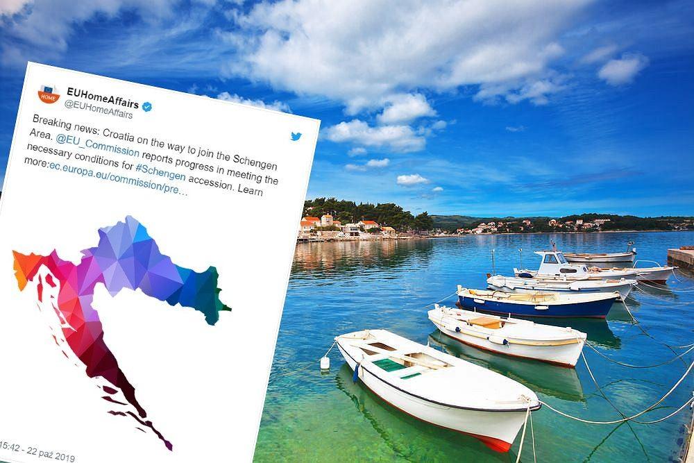 Chorwacja coraz bliżej strefy Schengen