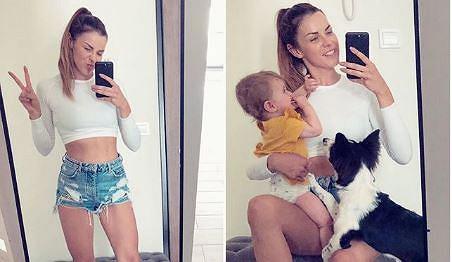 """Trenerka Natalia Kruczyńska: """"Moje życie wygląda zupełnie inaczej niż przed ciążą, już nie gonię za formą jak szalona"""""""