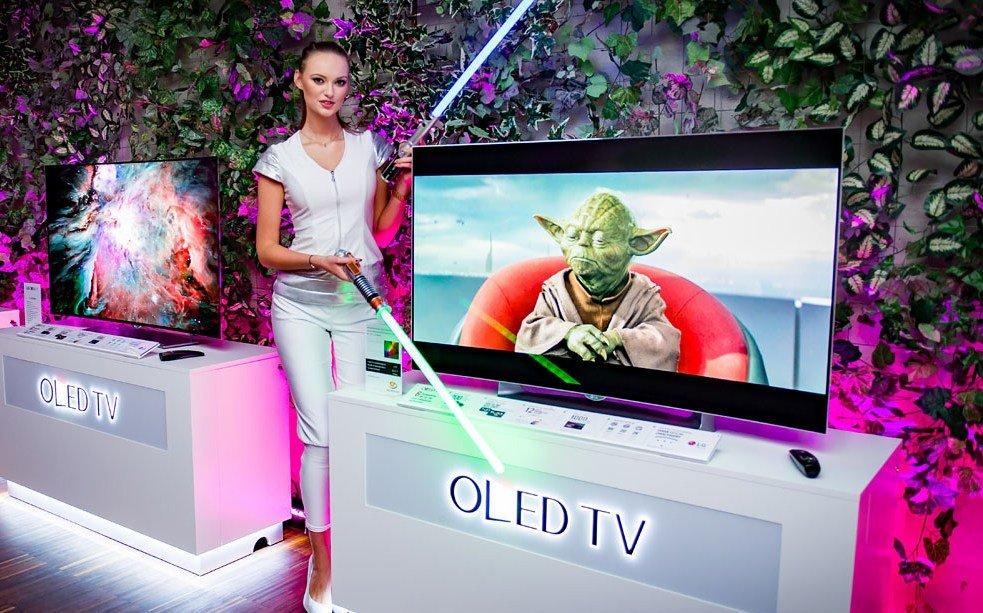 LG OLED UHD - premiera