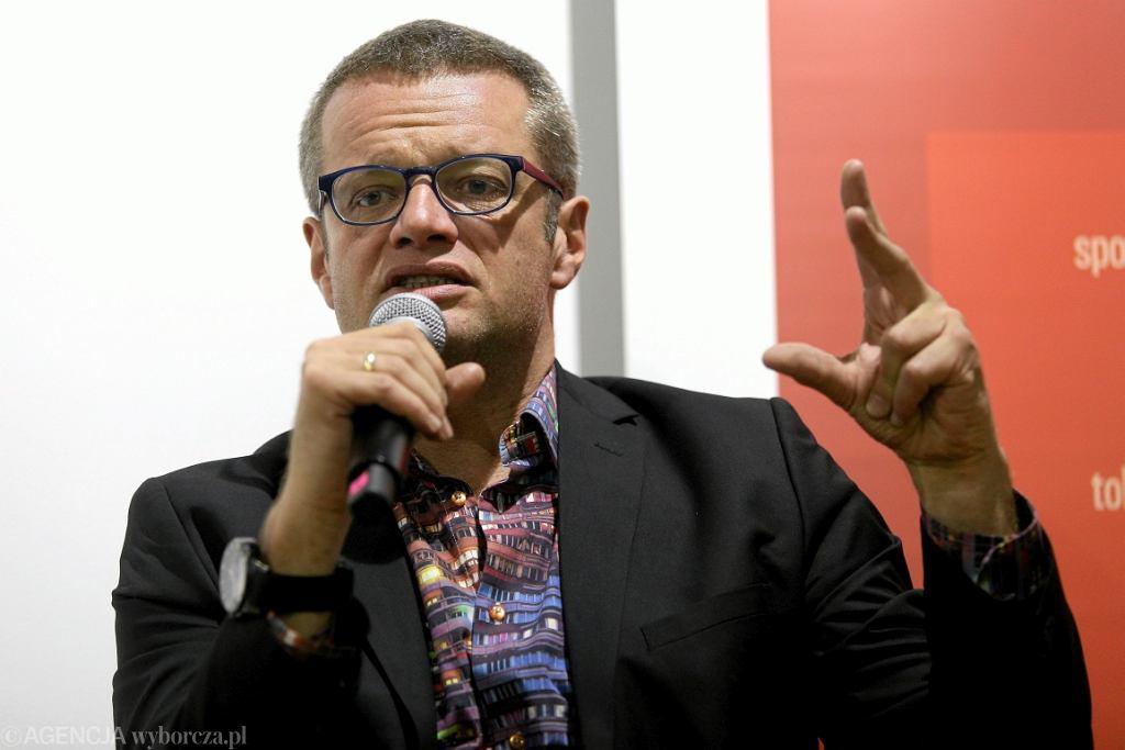 Marcin Meller (fot. Jakub Orzechowski/AG)