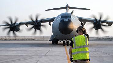 Trwa ewakuacja dyplomatów z Kabulu