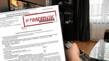 Brak płacenia abonamentu RTV może się skończyć zajęciem komorniczym