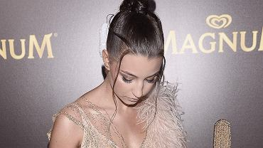 Julia Wieniawa na imprezie Magnum