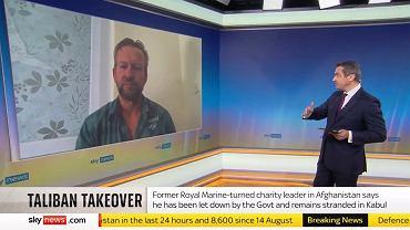 Pen Farthing w Sky News