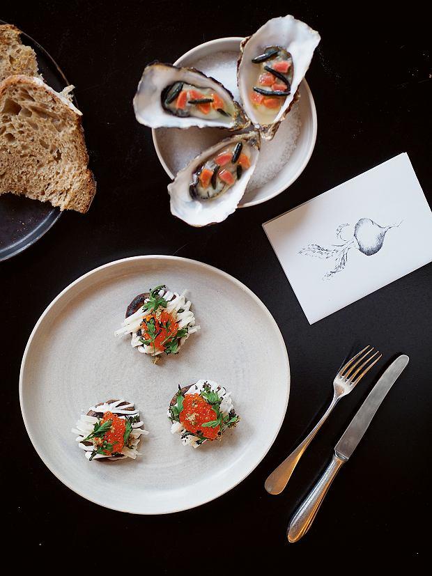 Amsterdam, Restauracja BAK niemal codziennie zmienia menu