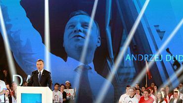 Konwencja wyborcza Andrzeja Dudy w 2015 r.