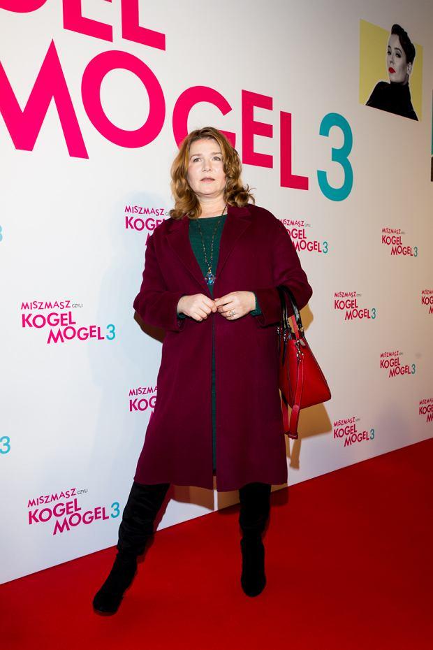 Grażyna Błęcka-Kolska na premierze filmu Kogel Mogel