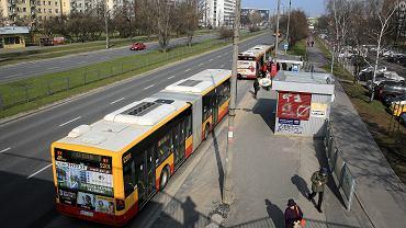 Przystanki autobusowe Czarnomorska w Warszawie