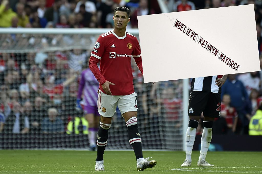 Transparent feministek w stronę Cristiano Ronaldo. 'Uwierzcie Kathrynie Mayordze'