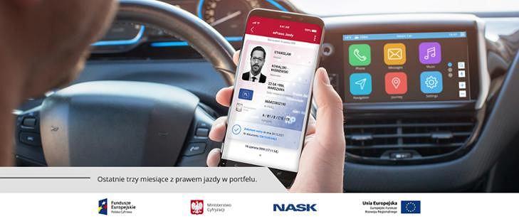 Aplikacja mPrawo Jazdy, mObywatel