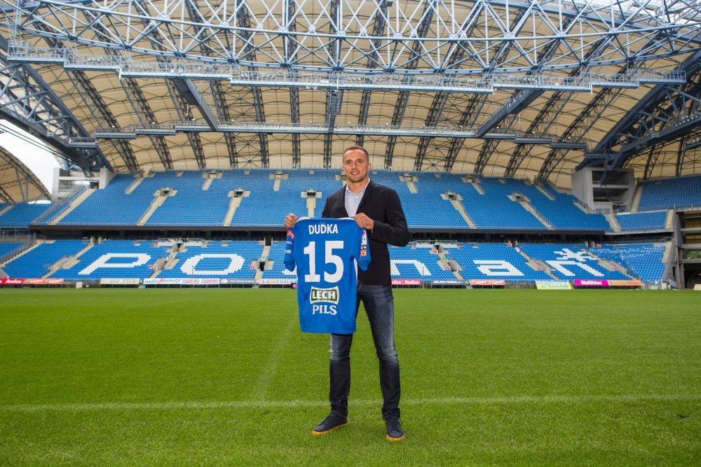 Dariusz Dudka został nowym piłkarzem Lecha Poznań