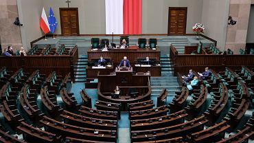 Sejm, ul Wiejska, 16.09.2021 Warszawa