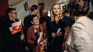 Jak Natalia Nitek-Płażyńska, żona posła PiS, o godność Polaków walczyła