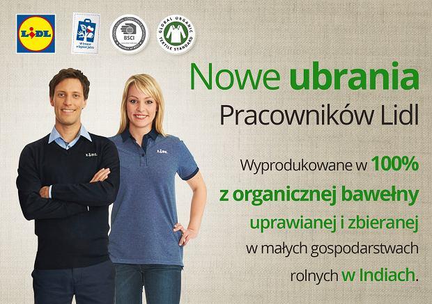 Nowe ubrania pracowników Lidla, źródło: mat. prasowe Lidl Polska