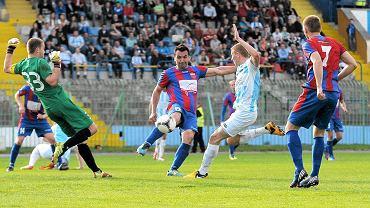 Piłkarze Polonii Bytom zremisowali ostatnio w Olsztynie