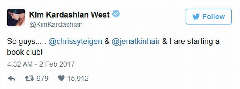 Kim Kardashian ogłasza powstanie klubu książkowego