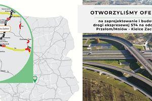 Budowlańcy rwą się do pracy - aż ośmiu chce budować jedną drogę. Jest przetarg na S74 pod Kielcami