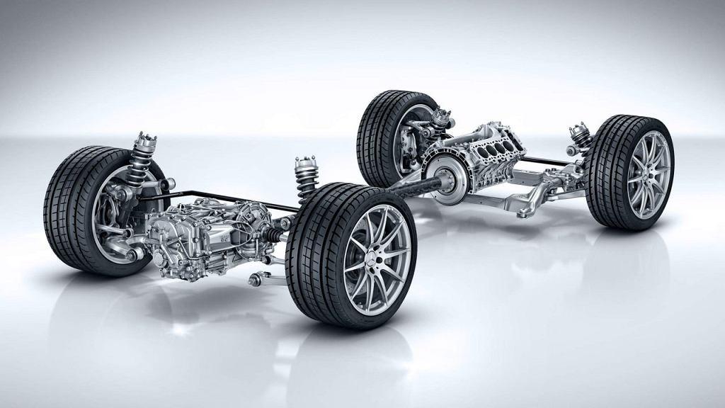 Przeguby Mercedes