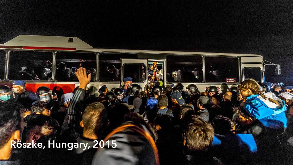 Kryzys migracyjny - zdjęcia z Węgier i Budapesztu