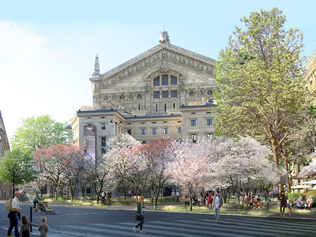 Koncepcja zielonego Paryża